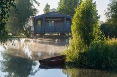 Die «Fischerhütte» ist eine Unterkunft für Gäste des Hotels Les Sources de…