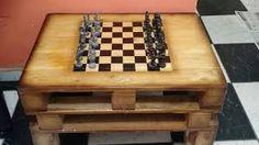 Resultado de imagem para mesa de paletes madeira
