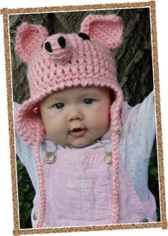 Adorable handmade crochet hats