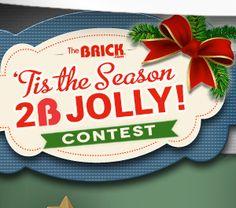 WIN 12 Daily FREE Prizes from The Brick Tis The Season, Brick, Free, Bricks