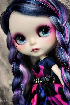 Each doll is a true to life likeness
