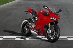 Ducati 1199 Panigale. How hard will you work for it?