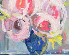 Impresionista arte acrílico pintura Original lienzo grandes