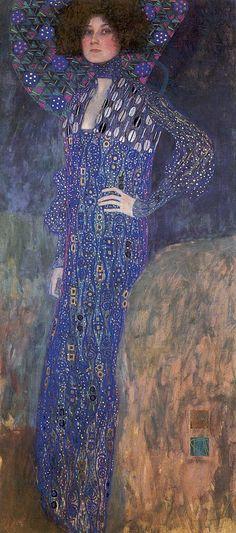 Klimt, Portrait of Emilie Floge, 1902
