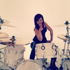Hi! I'm Jen Ledger, the drummer for the band Skillet! :) I love using my talents for Jesus and using them with the people I love the most!