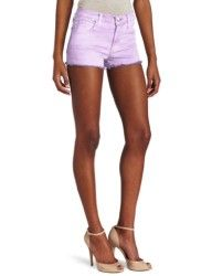 Joe's Jeans Women's High Rise Cut Off Short #pink_shorts #hot_pants