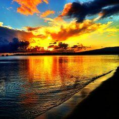Hickam AFB Beach in Honolulu, HI