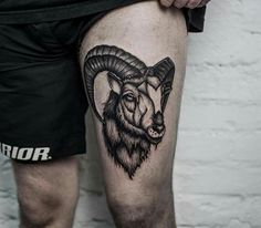 Tatoos Men, Tattos, Tattoos For Guys, Widder Tattoos, Ram Tattoo, Men Design, First Tattoo, Tattoo Designs Men, Horns