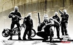 """GTA IV: """"The Lost and Damned"""" gang."""