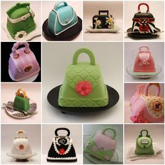 Cupcake Envy: Fashionable Purse Cakelets