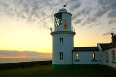 Sunset at St Bees Lighthouse, Cumbria | da iancowe
