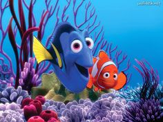 Cartoon Wednesday Finding Nemo is a 2003 American computer-animated film produced by Pixar Animation Studios and released by Walt Disney Pictures. Disney Pixar, Disney Cartoon Characters, Disney Cartoons, Walt Disney, Disney Films, Film Pixar, Pixar Movies, Disney Love, Disney Magic