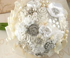 Broach wedding bouquet!