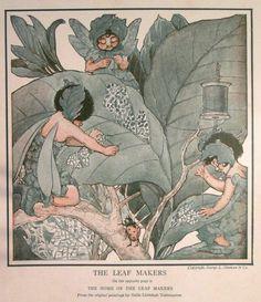 Vintage Children's Illustration 'The Leaf' | PureSweetGoodness on Etsy