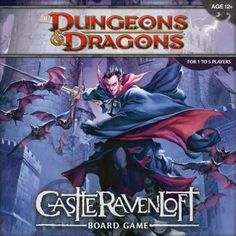 Dungeons and Dragons: Castle Ravenloft Board Game « Game Searches