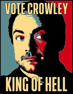 Supernatural Vote Crowley King of Hell :o love him Mark Sheppard