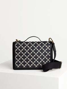 Equal parts chic and practical, this cross body bag features a detachable shoulder strap in sporty cotton webbing and a leather top handle for instant on-the-go wear. It has a back zipped pocket for easy access and an inner pocket with eight card slots. Fill yours with the essentials. Malene Birger, Small Bags, Everyday Fashion, Fashion Bags, Louis Vuitton Damier, Shoulder Strap, Women Accessories, Crossbody Bag, Sporty