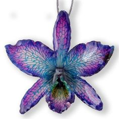 A bold statement piece... just like real orchids! via Hanami