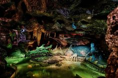 um... I think its time to go to Disneyland Paris now. THIS IS IN THE DUNGEON OF SLEEPING BEAUTIES CASTLE. 18 Truly Magical Disney Attractions You Can't Ride In The United States