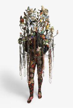 Nick Caves Fabric Sculptures.