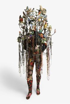 Nick Cave Soundsuit Birds1  Nick Caves Fabric Sculptures.