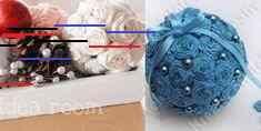 Comment bricoler des boules de papier crépon! Comment bricoler des boules de papier crépon! - Décorations - Trucs et Bricolages Wedding, Crepe Paper, Stuff Stuff, Mariage, Wedding Ceremonies