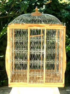 Large Bird Cages, Wooden Handmade Large Bird Cages Aviaries