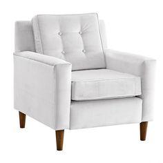 Skyline Velvet Arm Chair -