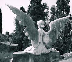 Angel, Cementiri de Montjuïc - Barcelona, Spain