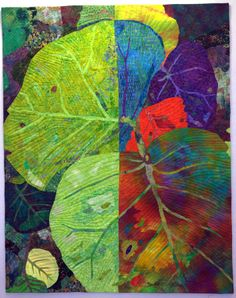 If Leaves Could Choose - Saw this in European Patchwork Meeting 2013, live, and it was fabulous.