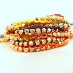 Golden Nugget Bracelet