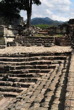 Copan Ruins > Steps - Honduras