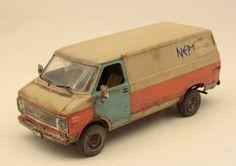 1/24 Plastic Model Car Kit - Weathering - by Barlas Pehlivan