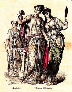 Ancient Greece      Priestess, Noblewomen