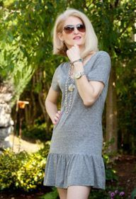 T Shirt Dress DIY-lots of cool diy stuff on this site!