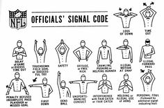 NFL Referee Signals