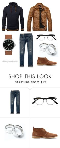 """Untitled #227"" by ohhhifyouonlyknew ❤ liked on Polyvore featuring ESPRIT, Hollister Co., Cutler and Gross and Jack & Jones"
