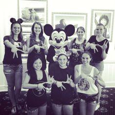 KKG loves Mickey. Disneyland 2K14