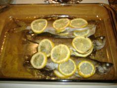 Baked Lemon Butter Trout