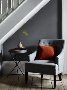 Our beautiful armchairs can be covered in more than thirty-two fabrics. Their bespoke finish means that they'll fit seamlessly into your home. Large Chair, Interior Architecture, Interior Design, Hallway Designs, Modern Armchair, Tufted Armchair, Occasional Chairs, Beautiful Interiors, Decoration