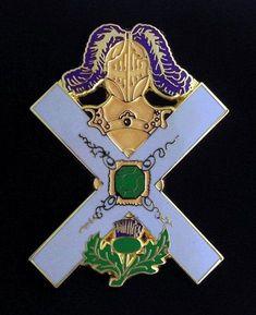 Version 3 Masonic Scottish Rite Rose Croix Lapel Pin 18-LP3
