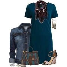 A Southern Fall in a Shirt Dress Contest