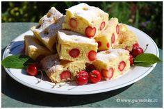 DSC_0024 bublanina s třešněmi Fruit Salad, Pancakes, French Toast, Sweets, Breakfast, Pastries, Recipes, Drink, Food