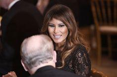 Melania Trump's Radiant Smile For Barack Obama at Barbara Bush's Funeral Lit Up the Internet