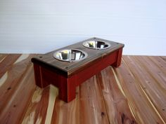 Classic Style Elevated Pet Feeder In Red For by Pet Feeder, Cat Accessories, Pet Stuff, Pet Gifts, Small Dogs, Dog Bowls, Red Wine, Classic Style, Dog Cat