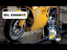 Ducati Oil Change 748 Superbike