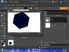 Learn how to use the shape tools in Adobe Photoshop Elements at www.teachUcomp.com. A clip from Mastering Photoshop Elements Made Easy v. 9.0. http://www.teachucomp.com/free - the most comprehensive Photoshop Elements tutorial available. Visit us today!