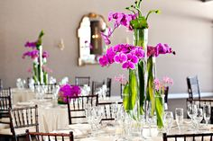 Main Ballroom, or larger venue, for plated events and more than 200. Flowers by #Winston #PetersonPartyCenter rentals.