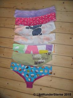 Unterhosen aus Shirts / Panties made from old shirts / Upcycling