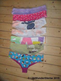 Unterhosen aus Shirts / Panties made from old shirts / Upcycling
